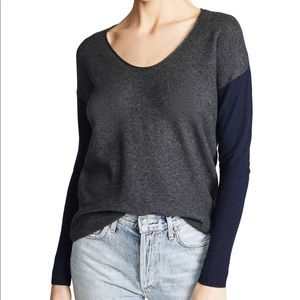 MADEWELL Kimball Colorblock Sweater NWT in Small